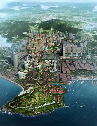 Historical and Cultural Core District Urban Design | Yantai
