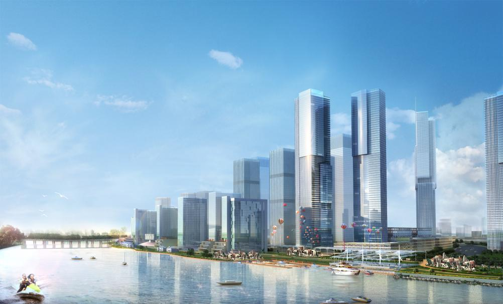Pazhou Mixed-Use Urban Center
