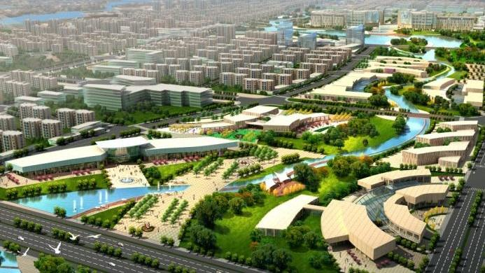 Ulanhot Hedong District Urban Design