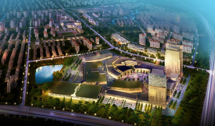 Zhangjiagang East District Urban Design