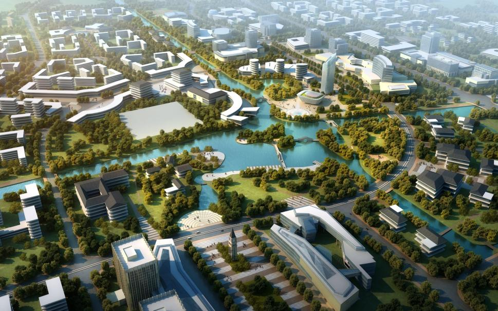 Shanghai Changxing Island Phoenix Town East District Urban Design