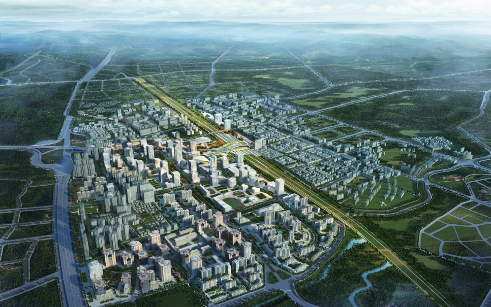 Guangzhou North Station and Surrounding Area Urban Design Competition