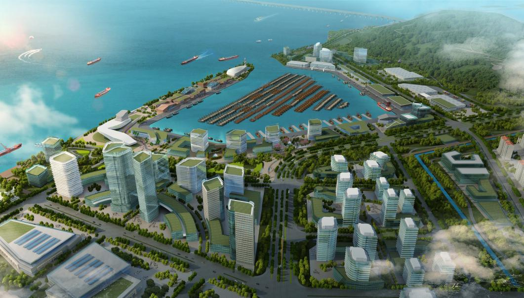 Zhuhai Hongwan Central Fishing Port Urban Design
