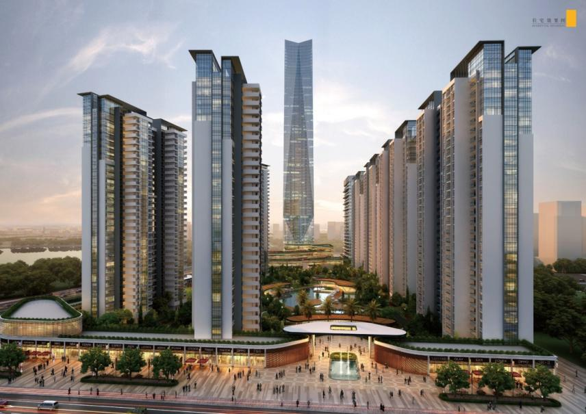 Jiangmen Xinhui South Lake Commercial & Residential Complex