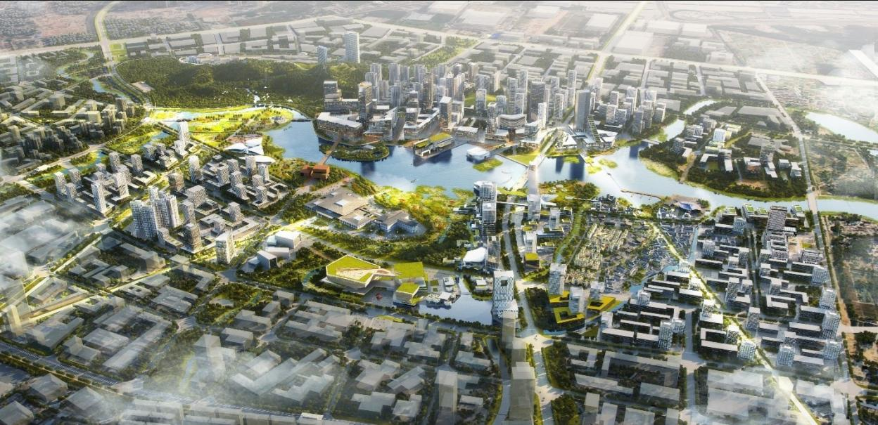 Shenzhen Yanzihu Area Integrated Urban Design